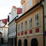 Dokončená rekonstrukce památkového objektu na Praze 1, ulice Míšenská.